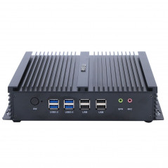 HYSTOU Mini PC Core i5-4200U Intel 2.6GHz, RAM: 4GB, ROM: 64GB, Support Win 10 / Linux HYSTOU - 1