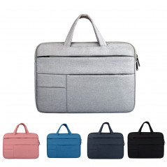 Universal Multiple Pockets Wearable Oxford Cloth Soft Portable Leisurely Handle Laptop Tablet Bag, For 14 inch and Below Macbook