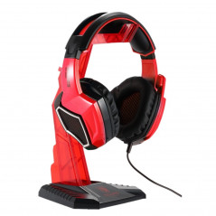 Support pour Casque Gamers SADES Universelle Multi-fonction (Rouge)