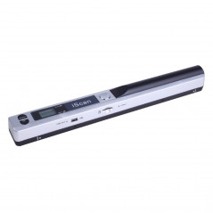 iScan01 Mobile Document Portable HandHeld Scanner with LED Display, A4 Contact Image Sensor, Support 900DPI / 600DPI / 300