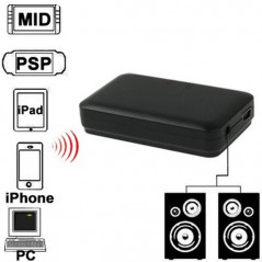 Mini Bluetooth Music Receiver for iPhone 4 & 4S / 3GS / 3G / iPad 3 / iPad 2 / Other Bluetooth Phones & PC, Size: 60 x 36 x 15mm