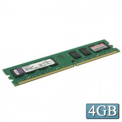 Mémoire vive RAM, DDR3 4GB 1333MHz PC2-6400 CL6 240-Pin DIMM