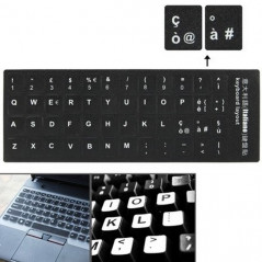 Italian Learning Keyboard Layout Sticker for Laptop / Desktop Computer Keyboard