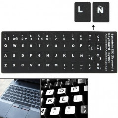 Spanish Learning Keyboard Layout Sticker for Laptop / Desktop Computer Keyboard