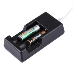 Chargeur universel USB 1.2V / 3.7V - Pour Batteries rechargeable Battery Charger - 1