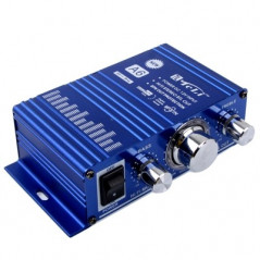 A6 2CH HiFi Multi-function Stereo Amplifier, Support MP3 In, DC 12V