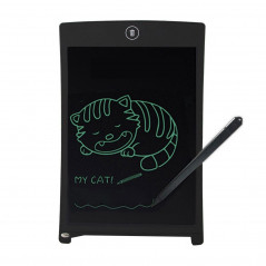 Howshow 8.5 inch LCD Pressure Sensing E-Note Paperless Writing Tablet / Writing Board (Black)