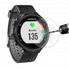 ENKAY Hat-Prince for Garmin Forerunner 235 Smart Watch 0.2mm 9H Surface Hardness 2.15D Explosion-proof Tempered Glass Full Scree