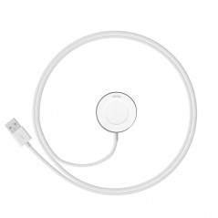Huawei Watch Charger Charging Dock Base Cradle with USB Charging Cable, Got CE / FCC Certification(White)