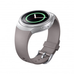 For Samsung Gear S2 Watch Solid Color Silicone Watchband(Khaki)
