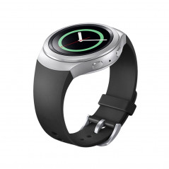 For Samsung Gear S2 Watch Solid Color Silicone Watchband(Grey)