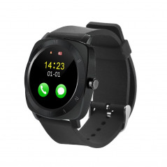 Montre connecté 1,33 pouces Bluetooth 3.0 Compatible Android IOS ( Noir ) Smart Wear Objects - 1