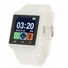 Montre connecté Bluetooth 1.5 pouces Etc.... pour Smartphone Android (Blanc) Smart Wear Objects - 1