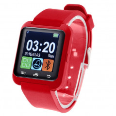 Montre connecté Bluetooth 1.5 pouces Etc.... pour Smartphone Android (Rouge) Smart Wear Objects - 1