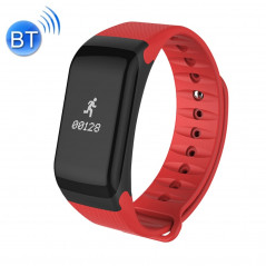 Bracelet connecté, 0,66 pouces OLED Bluetooth, étanche, podomètre etc... Android et iOS (Rouge) Smart Wear Objects - 1