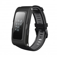 T28 0.96 Inch OLED Touch Screen GPS Track Record Smart Bracelet, IP67 Waterproof, Support Pedometer / Heart Rate Monitor / Blood