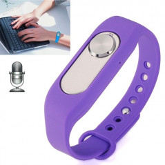 Bracelet connecté 4 Giga enregistrement vocal un enregistrement de longue durée (Violet) Smart Wear Objects - 1