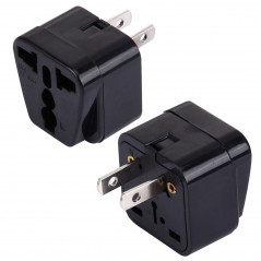WD-6 Portable Universal Plug to US Plug Adapter Power Socket Travel Converter