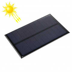 5V 1.2W 200mAh DIY Sun Power Battery Solar Panel Module Cell, Size: 110 x 69mm