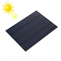 18V 1.5W 80mAh DIY Sun Power Battery Solar Panel Module Cell, Size: 110 x 140mm