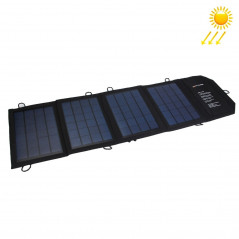 14W 2.8A Max 2 Output Ports Portable Folding Solar Panel Charger Bag for Samsung / HTC / Nokia / Mobile Phones / Other Devices
