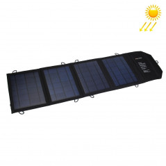20W 4A Max 2 Output Ports Portable Folding Solar Panel Charger Bag for Samsung / HTC / Nokia / Mobile Phones / Other Devices
