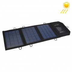 10.5W 2.1A Max 2 Output Ports Portable Folding Solar Panel Charger Bag for Samsung / HTC / Nokia / Mobile Phones / Other Devices