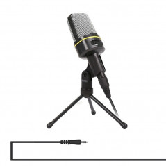 Yanmai SF-920 Professional Condenser Sound Recording Microphone with Tripod Holder, Cable Length: 2.0m(Black)