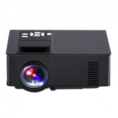 Projecteur Portable 1500 Lumens, Android 4.4, Quad-Core, 1 Go DDR3, 8 Go NAND FLASH (Noir)