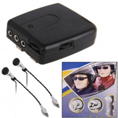 Kit 2 pièces Interphone pour moto (filaire) conducteur + passager (Pack de communication) Motorcycle Communication - 1