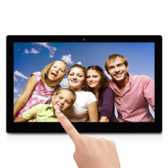 18.5 inch LCD HD Touch Screen Android 4.4 Digital Picture Frame with Holder, Quad Core Cortex A9 1.6G, RAM: 1GB, ROM: 8GB, Suppo