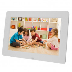 13 inch 1024 x 768 / 16?9 LED Widescreen Suspensibility Digital Photo Frame with Holder & Remote Control, Support SD / MicroSD /