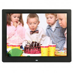 14 inch LED Display Multi-media Digital Photo Frame with Holder & Music & Movie Player, Support USB / SD / MS / MMC Card Input(B