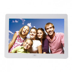 14 inch LED Display Multi-media Digital Photo Frame with Holder & Music & Movie Player, Support USB / SD / MS / MMC Card Input(W