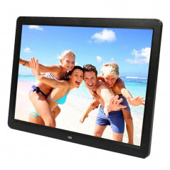 15 inch 1280 x 800 16:9 LED Widescreen Suspensibility Digital Photo Frame with Holder & Remote Control, Support SD / MicroSD / M