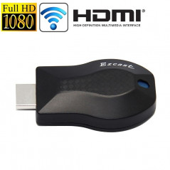 Ez Cast Full 1080P Mini DLNA Display Receiver Dongle WiFi Display Sharer (M2)(Black)