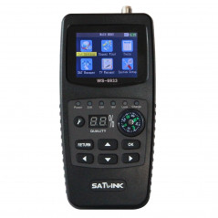 SATLINK WS6933 Portable Digital Satellite Finder Meter, 2.1 inch LCD Colour Screen, DVB-S2/S Signal Pointer
