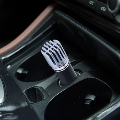 Car Cigarette Lighter Air Purifier Negative Ione Freshener Air Cleaner, Removes Pollen, Smoke, Bad Smell and Odors For Auto and