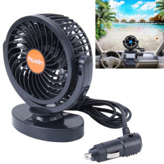 HUXIN HX-T306 6W 360 Degree Adjustable Rotation Low Noise Mini Electric Car Fan, DC 24V