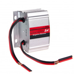 RF-5A DC 24V to 12V Car Power Inverter Adapter Negative Booster Convert(Silver)