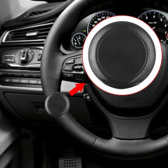 Car Auto Universal Alloy Steering Wheel Spinner Knob Auxiliary Booster Aid Control Handle Car Steering Wheel Booster Wheel Stren