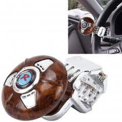 312A Brown Car Auto Universal Steering Wheel Spinner Knob Auxiliary Booster Aid Control Handle