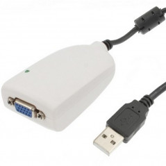 Carte graphique externe - USB 2.0 vers VGA Multi-affichage VGA Cable or Adapter - 1