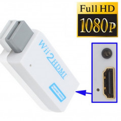Convertisseur Adaptateur Wii vers HDMI 1080p Wii to HDMI - 1