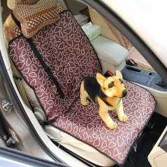 Nonslip Folding Car Front Seat Pattern Cover Pet Cat Dog Cushion Mat, Size: 100 x 50 x 0.1 cm