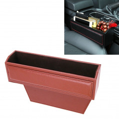 2 PCS Car Seat Crevice Storage Box without Interval Cup Drink Holder Organizer Auto Gap Pocket Stowing Tidying for Phone Pad Car