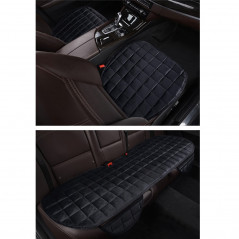 3 PCS / Set Warm Car Seat Cover Cushion Five Seats Universal Two Front Row Seat Covers and One Back Row Seat Cover Car Non-slip