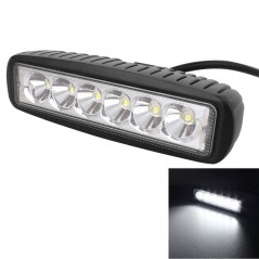18W 1440LM Epistar 6 LED White Slot Beam Car Work Lamp Bar Light Waterproof IP67, DC 10-30V