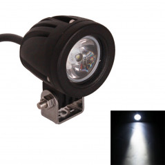 MZ DY609 DC 9-32V 10W 1000LM 6500K Waterproof Vehicle Car Boat Marine External Work Lights Emergency Lights 30 Degrees Spot Ligh