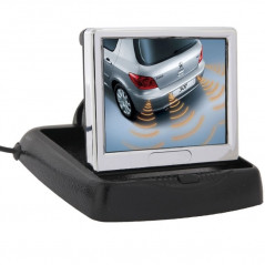 Schermo da 3,5 p e Video LCD della macchina fotografica dell'Automobile Drop-TV-DVD-MP4